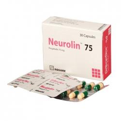 Thuốc hướng thần Square Neurolin 75 30 viên