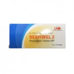 Thuốc hướng thần Uno Respiwel 2, Hộp 100 viên