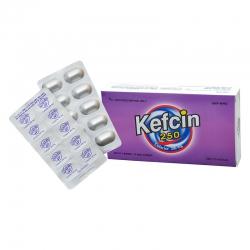 Thuốc Kefcin 250mg DHG, Hộp 30 viên