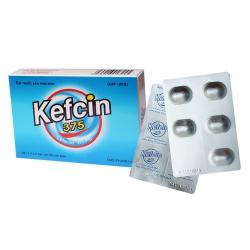 Thuốc Kefcin 375mg DHG, Hộp 10 viên