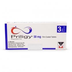 Thuốc kéo dài thời gian quan hệ Priligy 30mg - Dapoxetine 30mg (Hộp 3 viên)