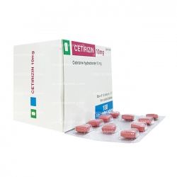 Thuốc kháng Histamin CETIRIZIN 10MG - Cetirizine HCl 10mg