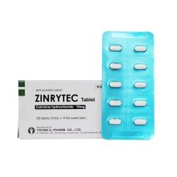 Thuốc kháng Histamin ZINRYTEC - Cetirizin 10mg