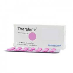Thuốc kháng histamine Theralene 5 | Hộp 2 vỉ × 20 viên