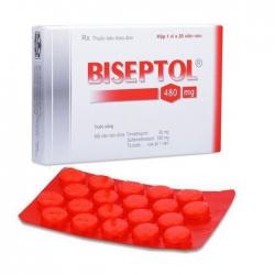 Thuốc kháng khuẩn Pharbaco Biseptol 480mg 20 viên