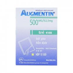 Thuốc kháng sinh Augmentin 500mg/62.5mg - Amoxicillin 500mg