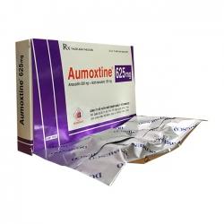Thuốc kháng sinh AUMOXTINE 625 - Aumoxicilin 500mg