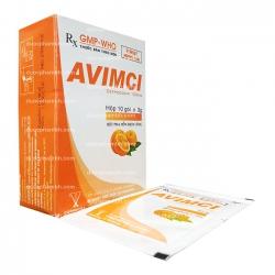Thuốc kháng sinh Cophavina Avimci 100mg, Hộp 10 gói