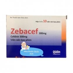 Thuốc kháng sinh Bilim Ilac Zebacef 300mg