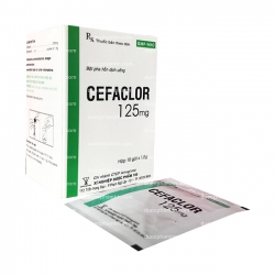 Thuốc kháng sinh CEFACLOR 125 - Cefaclor 125mg