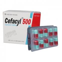 VPC Cefacyl 500, Hộp 100 viên