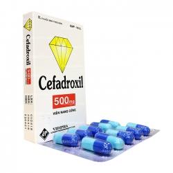 Thuốc kháng sinh CEFADROXIL 500 - Cefadroxil 500mg