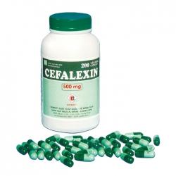 Thuốc kháng sinh DMC Cefalexin 500mg, Chai 200 viên