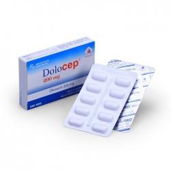 Thuốc kháng sinh Dolocep 200mg Domesco