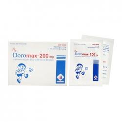 Thuốc kháng sinh Domesco Doromax 200mg, Hộp 10 gói