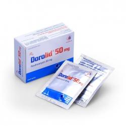 Thuốc kháng sinh Dorolid 50mg Domesco (Gói)