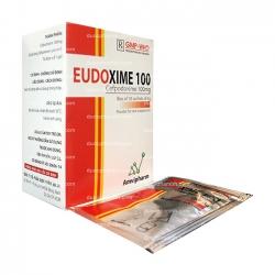 Thuốc kháng sinh Amvipharm Eudoxime 100mg, Hộp 10 gói