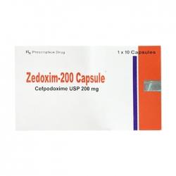 Thuốc kháng sinh Globe Zedoxim 200mg
