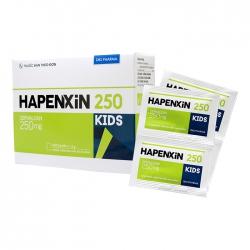 Thuốc kháng sinh Hapenxin 250 Kids DHG, Hộp 20 gói