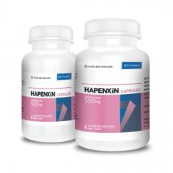 Thuốc kháng sinh Hapenxin 500 DHG, Chai 100 viên