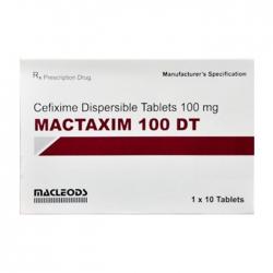 Thuốc kháng sinh Macleods Mactaxim 100 DT, Hộp 10 viên