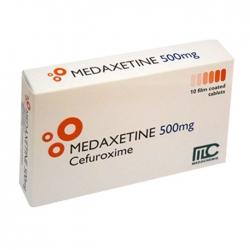 Thuốc kháng sinh Medaxetine 750mg, Hộp 10 viên