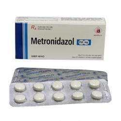 Thuốc kháng sinh Metronidazol 250mg Domesco