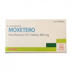 Thuốc kháng sinh Moxetero 400mg, Hộp 30 viên