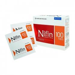 Thuốc kháng sinh Nifin Kids 100 DHG, Cefpodoxime 100mg, Hộp 24 gói