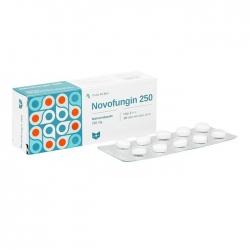 Thuốc kháng sinh Novofungin 250mg, Hộp 20 viên