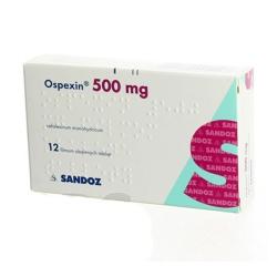 Thuốc kháng sinh Ospexin 500mg Sandoz, Hộp 100 viên