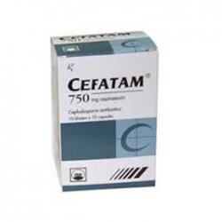 Thuốc kháng sinh PMP Cefalexin 750mg, Hộp 100 viên