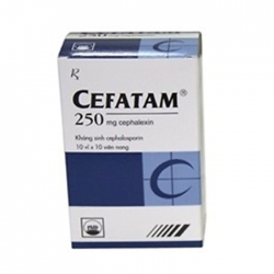 Thuốc kháng sinh PMP Cefatam