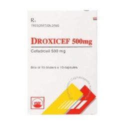 Thuốc kháng sinh PMP Droxicef 500(200v)