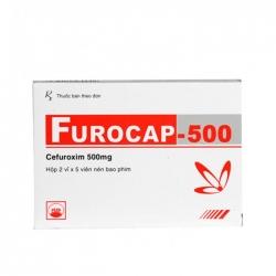 Thuốc kháng sinh PMP Furocap 500