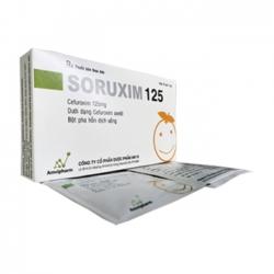 Thuốc kháng sinh SORUXIM 125 - Cefuroxim 125mg