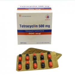 Thuốc kháng sinh Tetracyclin 500mg Domesco