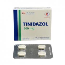 Thuốc kháng sinh Tinidazol 500mg Domesco