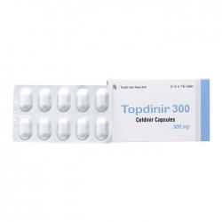 Thuốc kháng sinh Topdinir 300mg, Hộp 20 viên