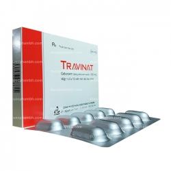 Thuốc kháng sinh TRAVINAT - Cefuroxim 500mg