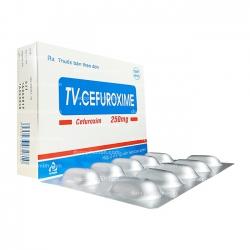 Thuốc kháng sinh TV.CEFUROXIME - Cefuroxim 250mg