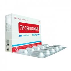 Thuốc kháng sinh TV.CEFUROXIME - Cefuroxim 500mg