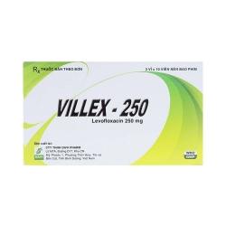 Thuốc kháng sinh Villex 250mg, Hộp 30 viên