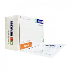 Thuốc kháng sinh VITRACLOR - Cefaclor 125mg