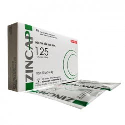 Thuốc kháng sinh ZINCAP 125 - Cefuroxim 125mg