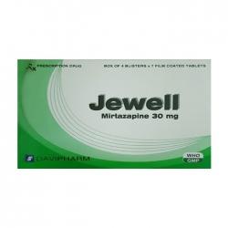 Thuốc trầm cảm Davipharm Jewell 30mg hộp 28 viên