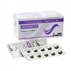 Thuốc kháng viêm Dynapar EC, Diclofenac 50mg, Hộp 100 viên