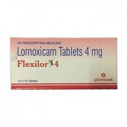 Thuốc kháng viêm Glenmark Flexilor 4mg, Hộp 100 viên