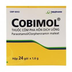 Thuốc kháng viêm Imexpharm Cobimol, Hộp 24 gói