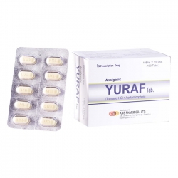 Thuốc kháng viêm KMS Pharm Yuraf, Hộp 100 viên